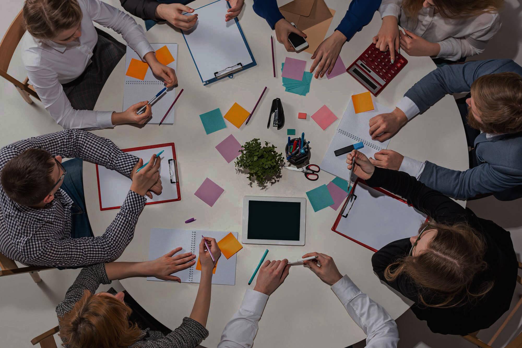 Практика создания бизнес-команды